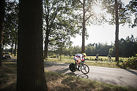 race leader Dylan Groenewegen (NED/LottoNL-Jumbo) is the last person to race today<br /> <br /> 12th Eneco Tour 2016 (UCI World Tour)<br /> stage 2: Breda-Breda iTT (9.6km)