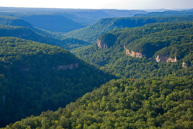 Fall Creek Falls State Park on Cumberland Plateau