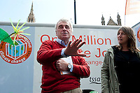 One Million Climate Jobs caravan sets off from london 12-5-12