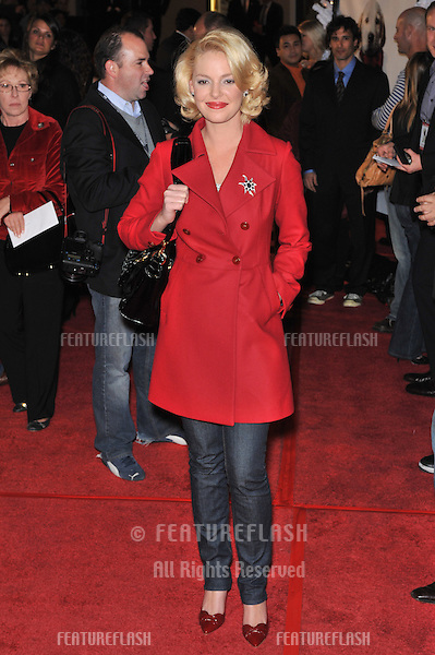 """Katherine Heigl at the premiere of """"Marley & Me"""" at Mann Village Theatre, Westwood..December 11, 2008  Los Angeles, CA.Picture: Paul Smith / Featureflash"""