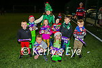 Mary Lyne with some of the young soccer players at Killarney Celtic academy Christmas party on Friday evening