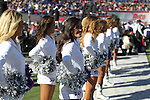 December 30, 2016: TCU showgirls perform at halftime of the AutoZone Liberty Bowl inside Liberty Bowl Memorial Stadium in Memphis, Tennessee. ©Justin Manning/Eclipse Sportswire/Cal Sport Media