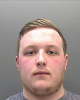 Pictured: Police custody picture of Joshua Staples<br /> Re: A driver has been sentenced for 16 months for causing the deaths of father and son Stuart and Fraser Bates by careless driving.<br /> Joshua Staples, 22, from Tonyrefail, Porth , appeared at Cardiff Crown Court last month where he pleaded guilty to two counts of causing death by careless driving without due care and attention.<br /> He pleaded not guilty to two counts of causing death by dangerous driving.