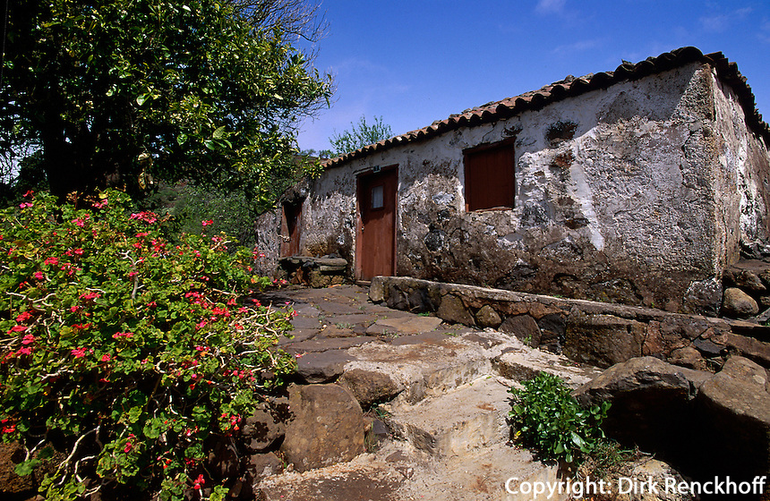 Spanien, Kanarische Inseln, La Palma, in Puntagorda