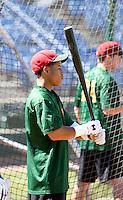 Dwayne Kemp / Boise Hawks..Photo by:  Bill Mitchell/Four Seam Images