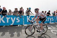 André Greipel (DEU/Arkea-Samsic) up the Tourmalet (HC/2115m/19km @7.4%)<br /> <br /> Stage 14: Tarbes to Tourmalet(117km)<br /> 106th Tour de France 2019 (2.UWT)<br /> <br /> ©kramon