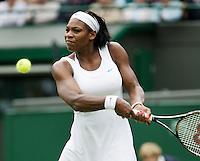27-6-07,England, Wimbldon, Tennis,  Serena Williams