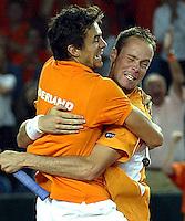 2003-09-15 Daviscup Netherlands-India
