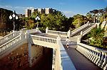Paesaggi del mondo. Parco pubblico a Zaragoza in Spagna