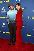 "LOS ANGELES - MAY 13:  Jason Sudeikis, Olivia Wilde at the ""Booksmart"" Premiere at The Theatre at Ace Hotel on May 13, 2019 in Los Angeles, CA"