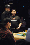 Gold and mentor, Johnny Chan.