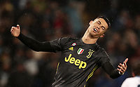 Football, Serie A: S.S. Lazio - Juventus, Olympic stadium, Rome, January 27, 2019. <br /> Juventus' Cristiano Ronaldo reacts during the Italian Serie A football match between S.S. Lazio and Juventus at Rome's Olympic stadium, Rome on January 27, 2019.<br /> UPDATE IMAGES PRESS/Isabella Bonotto