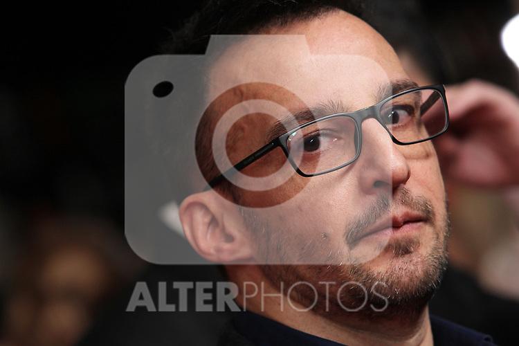 Director Alejandro Amenabar attends the Candidates to Goya Cinema Awards party at Florida Retiro on December 16, 2019 in Madrid, Spain.(ALTERPHOTOS/ItahisaHernandez)