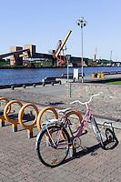 Am Hafen von Ventspils, Lettland, Europa