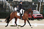April 25, 2014: Inmidair and Jan Byyny compete in Dressage at the Rolex Three Day Event in Lexington, KY at the Kentucky Horse Park.  Candice Chavez/ESW/CSM