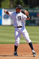 Detroit Tigers shortstop Hernan Perez (64) during a game vs. the Washington Nationals in an Instructional League game at Joker Marchant Stadium in Lakeland, Florida;  October 1, 2010.   Photo By Mike Janes/Four Seam Images