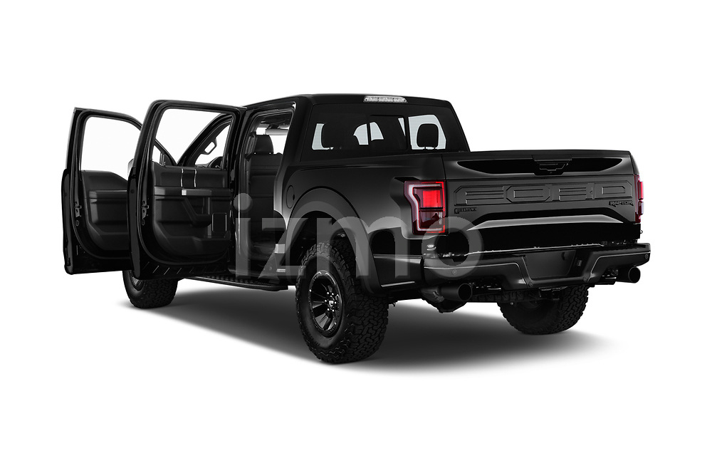 Car images close up view of a 2018 Ford F-150 Raptor 4 Door Pick Up doors