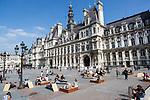 Europa, Frankreich, France, Paris, Marais, Hotel de Ville, Rathaus, 10.09.2014