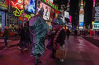 America,New York,  Manhattan, Time square