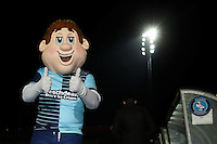 Bodger, the Wycombe Wanderers mascot ahead of the The Checkatrade Trophy match between Wycombe Wanderers and West Ham United U21 at Adams Park, High Wycombe, England on 4 October 2016. Photo by David Horn.