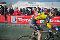 U23 Belgian Champion Jens Adams (BEL)<br /> <br /> 2014 Noordzeecross