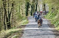 peloton<br /> <br /> 107th Liège-Bastogne-Liège 2021 (1.UWT)<br /> 1 day race from Liège to Liège (259km)<br /> <br /> ©kramon