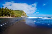 Waipio valley, Hamakua coast, The Big Island of Hawaii