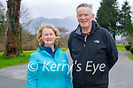 Enjoying a stroll in the Killarney National park on Sunday, l to r: Bridget and Liam McGuire.