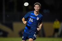 Miami, FL - Tuesday, October 15, 2019:  Christian Cappis #24 during a friendly match between the USMNT U-23 and El Salvador at FIU Soccer Stadium.