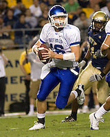 September 06, 2008:  Buffalo quarterback Drew Willy..The Pitt Panthers defeated the Buffalo Bulls 27-16 on September 06, 2008 at Heinz Field, Pittsburgh, Pennsylvania.