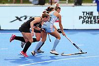 Megan Hull during the Pro League Hockey match between the Blacksticks women and Argentina, Nga Punawai, Christchurch, New Zealand, Sunday 1 March 2020. Photo: Simon Watts/www.bwmedia.co.nz