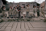 In Egypt, these children work in a pottery, producing plates, bowls, and pots. - Child labor as seen around the world between 1979 and 1980 - Photographer Jean Pierre Laffont, touched by the suffering of child workers, chronicled their plight in 12 countries over the course of one year.  Laffont was awarded The World Press Award and Madeline Ross Award among many others for his work.g