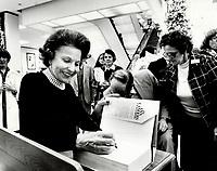 1978<br />  FILE PHOTO - ARCHIVES -<br /> <br /> Landers, Ann <br /> <br /> Bezant, Graham<br /> Picture, 1978, <br /> <br /> 1978<br /> <br /> PHOTO : Graham Bezant - Toronto Star Archives - AQP