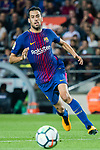 Sergio Busquets Burgos of FC Barcelona in action during the La Liga match between FC Barcelona vs RCD Espanyol at the Camp Nou on 09 September 2017 in Barcelona, Spain. Photo by Vicens Gimenez / Power Sport Images
