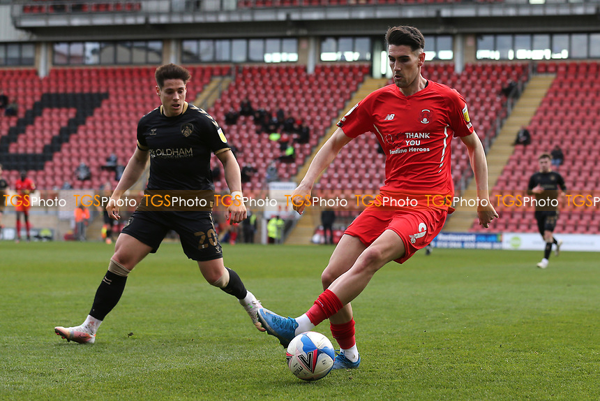 Conor Wilkinson of Leyton Orient during Leyton Orient vs Oldham Athletic, Sky Bet EFL League 2 Football at The Breyer Group Stadium on 27th March 2021
