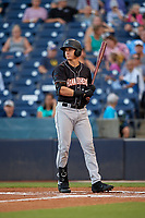 Jupiter Hammerheads JJ Bleday (21) at bat during a Florida State League game against the Tampa Tarpons on July 26, 2019 at George M. Steinbrenner Field in Tampa, Florida.  Tampa defeated Jupiter 4-3 in the second game of a doubleheader.  (Mike Janes/Four Seam Images)