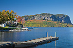 View of Mount Kineo over Moosehead Lake, Rockwood, Somerset County, ME, USA