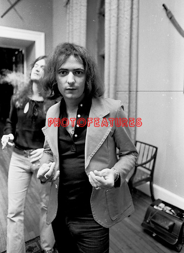 Deep Purple 1973 Ritchie Blackmore.© Chris Walter.