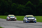 #37 LA Honda World Racing Honda Civic TCR, TCR: Chris Miller, Shelby Blackstock, #73 LA Honda World Racing Honda Civic TCR, TCR: Mike LaMarra, Mathew Pombo