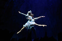 Scottish Ballet presents the world premiere of The Snow Queen, at the Festival Theatre. The work is choreographed by Christopher Hampson, to the music of Rimsky-Korsakov, with set and costume design by Lez Brotherston, and lighting design by Paul Pyant.  The cast is: Constance Devernay (Snow Queen), Bethany Kingsley-Garner (Gerda), Andrew Peasgood (Kai), Kayla-Maree Tarantolo (Lexi). The picture shows: Constance Devernay (Snow Queen), Andrew Peasgood (Kai).
