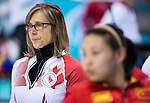 Sonja Gaudet, Sochi 2014 - Wheelchair Curling // Curling en fauteuil roulant.<br />