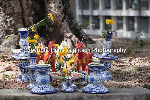 Friedhof in Nha Trang, Vietnam