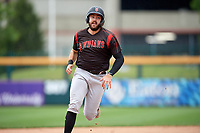 Indianapolis Indians Will Craig (25) running the bases during an International League game against the Buffalo Bisons on June 20, 2019 at Sahlen Field in Buffalo, New York.  Buffalo defeated Indianapolis 11-8  (Mike Janes/Four Seam Images)