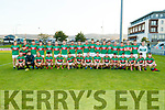 Mid Kerry team before the Kerry County Senior Football Championship Final match between East Kerry and Mid Kerry at Austin Stack Park in Tralee on Saturday night.