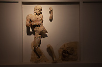 Tempio di Zeus metopa - Museo archeologico di Olimpia (Grecia) Patrimonio Unesco