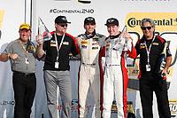 #52 MINI JCW Team, MINI JCW, ST: Mark Pombo, Colin Mullan,  podium