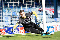 Josh Griffiths, Cheltenham Town pre match during Southend United vs Cheltenham Town, Sky Bet EFL League 2 Football at Roots Hall on 17th October 2020