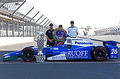 Verizon IndyCar Series<br /> Indianapolis 500 Winner Portrait<br /> Indianapolis Motor Speedway, Indianapolis, IN USA<br /> Monday 29 May 2017<br /> Takuma Soto poses for the 500 winner photos<br /> World Copyright: Phillip Abbott<br /> LAT Images<br /> ref: Digital Image abbott_indyD_0517_35390