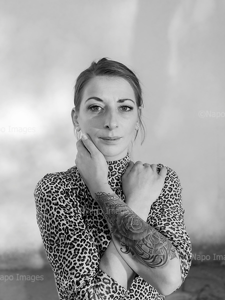 Krasnystaw 17.10.2019 Poland<br /> Justyna, a young mother of two boys, living in small village in the Lublin Province. She is a modern, confident woman with liberal views.<br /> Photo: Adam Lach