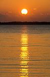 Sunset from Denarau Island in Fiji